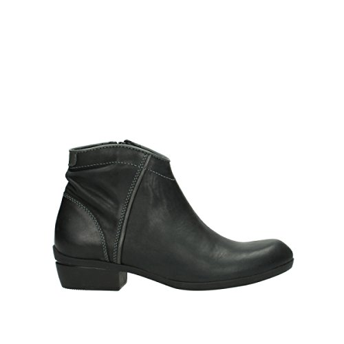 Wolky Comfort Boots Winchester - 50002 Black Leather - 37