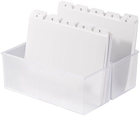 Han 975-63 - Caja para tarjetas (formato A5, capacidad para 450 ...