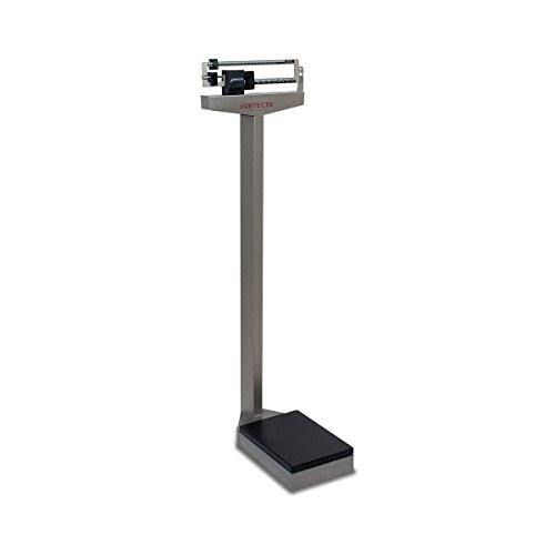 Detecto 437S Eye Level Physician Mechanical Beam Scale-Stain