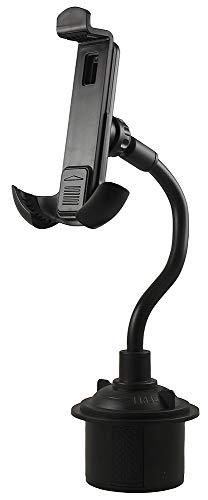 (Phone/GPS/PDA Holder Mount, Nakedcellphone Car Cup Holder Adjustable Smartphone Cradle for PDA, GPS, iPhone Xr/Xs/X/8/7/6, Galaxy J3/J7/S9/S8/S7 LG Q7+/Stylo 4/3/2/V35 ThinQ/Q6/G7)
