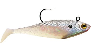 - Storm WildEye Swim Shad 09 Fishing Lure, Shiner Chartreuse Silver