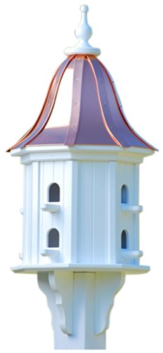 The Birdhouse Chick - Copper Dovecote Birdhouse-PVC 36x14
