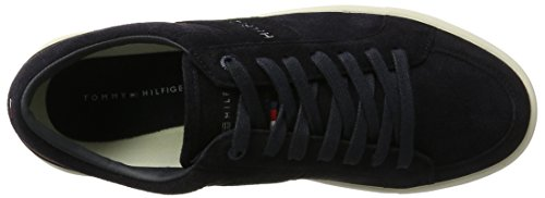 Hilfiger Bleu Basses Tommy Midnight Sneakers 1c2 M2285oon Homme f7qYPxd