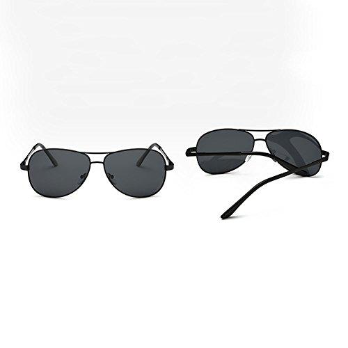Hombres de de los Polarizer Sol de Gafas Gafas Gafas de Vendimia Gafas Conducción de Sol Sol 1 Color la de DT 4 xI6STXw