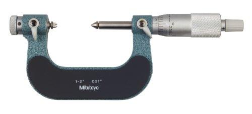 Mitutoyo 126-902 Screw Thread Micrometers, Interchangeabl...