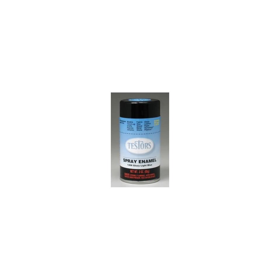 Light Blue Testors Enamel Plastic Model Spray Paint