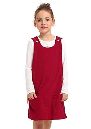 Amazon.com: Ephex Kid Toddler Girls Corduroy Cotton ...