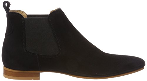 New TEN Black Femme Schwarz Toulouse Chelsea Boots POINTS 5ZHZqT1