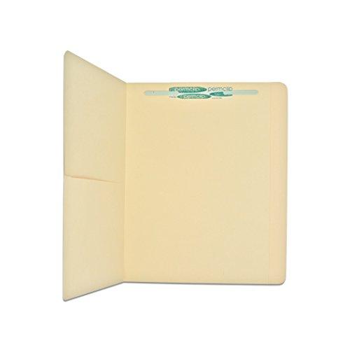 File Medical Folders Manila (Medical Arts Press Match Letter Size Top Tab Manila File Folders with Half Pocket and 1 Permclip Fastener (50/Box))