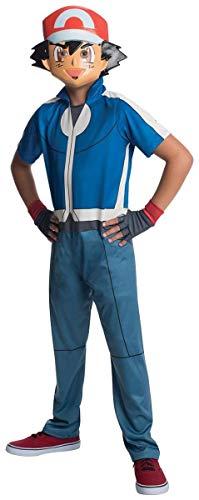 Rubies Costume Pokemon Ash Child Costume, Medium