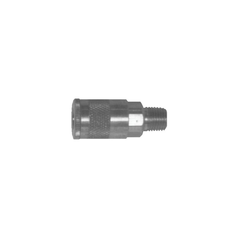 Dixon DC9 Steel Air Chief Industrial Interchange Quick Connect Fitting, Socket, 1/2 Coupler, Industrial Profile, 1/2 NPT Male, Box of 10
