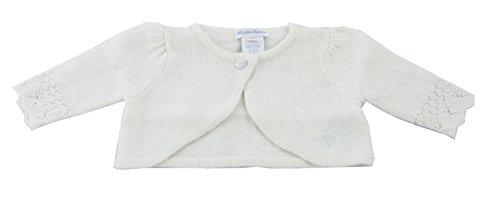 Polo Ralph Lauren Baby Boy Long Sleeve Cashmere Blend Pointel, Herbal Milk, 9 MOS