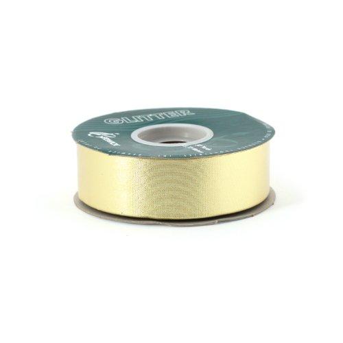 Berwick 1-1/4-Inch Wide by 50-Yard Spool Glitter Flora Satin Craft Ribbon, Gold