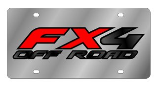FX4 Offroad License Plate