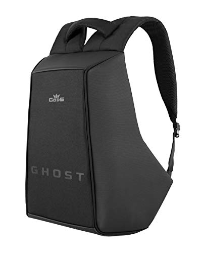 GODS Polyester 22 Ltr Black & Grey Laptop Backpack