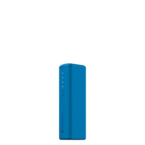 mophie powerstation Boost Mini External Battery for Universal Smartphones and Tablets (2,600mAh) - Blue