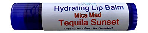 Tequila Sunset Mica Mad Tequila Sunrise Flavored Lip Balm by Diva Stuff