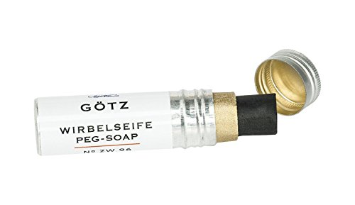 (Goetz ZW-96 The Original Violin Peg Compound in Aluminium Tube)