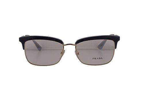 Prada PR08SV Eyeglasses 55-17-140 Opal Gray Azure Opal Gray UEE1O1 VPR08S For Women (FRAME - Prada Eyeglasses Wayfarer