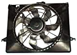 TYC 621260 Hyundai Sonata Replacement Radiator/Condenser Cooling Fan Assembly