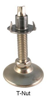 T-Nut Leg Leveler (Set of 4) (Workbench Top Adjustable Legs)