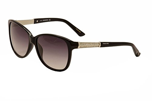 Swarovski Womans Sunglasses SK0083 01B - Sunglasses Swarovski