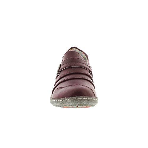 Himmelska Fötter Hosta 4 - Berry (vinröd) Kvinnor Skor