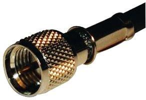 AMPHENOL CONNEX 182110 RF/COAXIAL, MINI UHF, PLUG, 50 OHM, CABLE, CRIMP (1 (Uhf Crimp Plug)