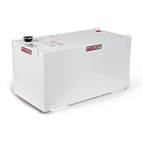 Weatherguard Liquid Transfer Tank, Rectangle, 100 Gallon