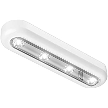 OxyLED Closet Lights,Touch Light,4 LED Touch Tap Light,Stick On