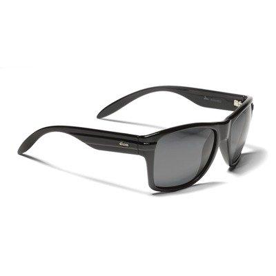 Dizm Eco Eyewear 10301011011 Dempsey Smoke Sunglass, Black, One - Sunglasses Dizm