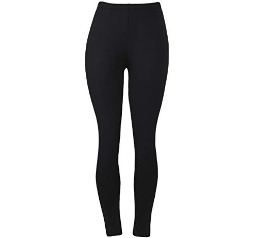 ggings for Ladies Fashion Cute Spandex Seamless Ankle Pants Color Black Size L XL ()