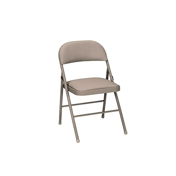Cosco All Steel Folding Chair Black (4-Pack)