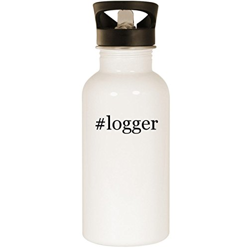 Logger Justin Boots (#logger - Stainless Steel 20oz Road Ready Water Bottle, White)