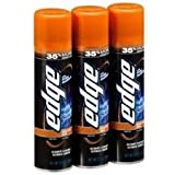 Energizer Edge Shave Gel Sensitive Skin with Aloe, 9.5 oz, 3 Pack