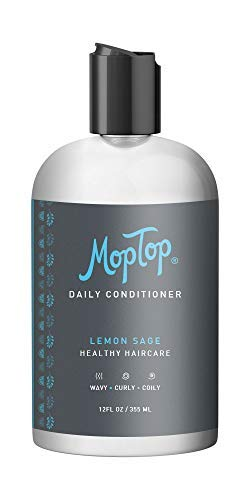 12oz MopTop Salon Daily Conditioner for Dry, Thick, Wavy, Curly &