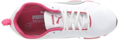 Puma Women's FormLite XT Ultra SL Wn's Outdoor Fitness Shoes White/White/White (White, Silver, Virtual Pink)