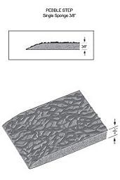Rhino Mats CSE-2436 Comfort Step ESD Static Dissipative Anti-Fatigue Mat, 2\' Width x 3\' Length x 3/8\