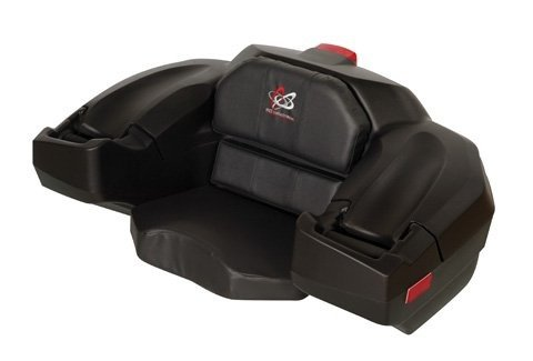 Wes Standard Storage Box And Seat Black WES Industries WS2500-OCP (Honda Atv Backrest)