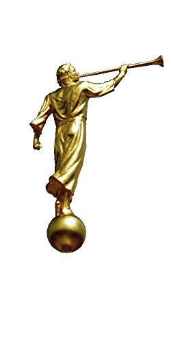 Gold Gold Tone Tie Pin (Angel Moroni Gold Tone Pin)