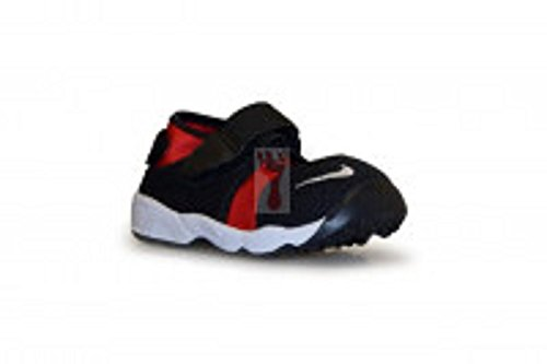 Nike Unisex Baby Little Rift (TD Boys) Sneaker Black (Black (Schwarz / Weiß-Universität Rot))