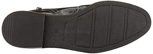 Tamaris Damen 1-1-25313-23 Chelsea Boots, Blau (Navy Patent 826), 38 EU 4