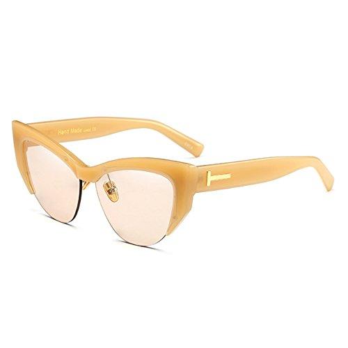 FuyingdaGafas moda mujer sol la Cateye C2 Gafas a de ojo retro gato de para Bx8r4qwBa