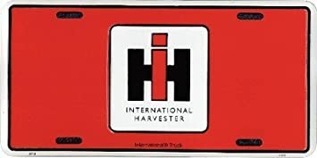 "International Harvester Logo License Plate Sign 12/""x6/"" NEW HIGH QUALITY ALUMINUM"