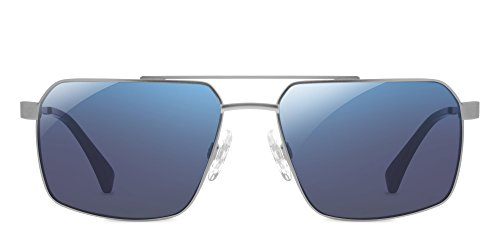 Enchroma Kittredge Sunglasses (Silver) by Enchroma
