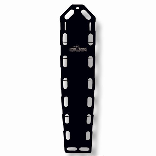 Iron Duck 35717-Black Pro Lite XT Spinal Immobilization Backboard ()