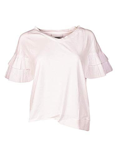 Unique Brand T shirt Bianco Donna 43530155 Cotone SwwqPCd