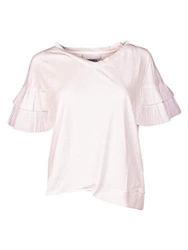 Brand T Cotone Bianco 43530155 Unique Donna shirt r5ZWBarcy