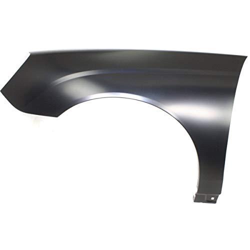 (Fender For 2004-2008 Chevrolet Malibu Front Driver Side Primed Steel)