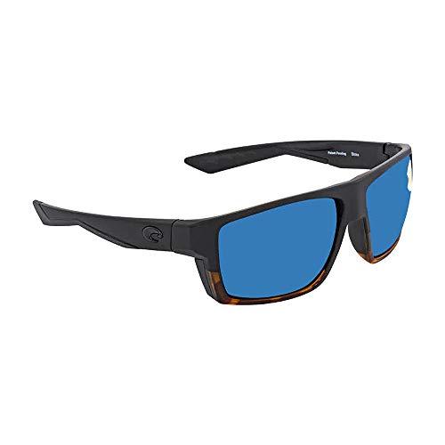 Costa Del Mar Costa Del Mar BLK181OBMP Bloke Blue Mirror 580P Matte Black/Shiny Tortoise Frame Bloke, Matte Black/Shiny Tortoise Frame, Blue Mirror 580P, One Size